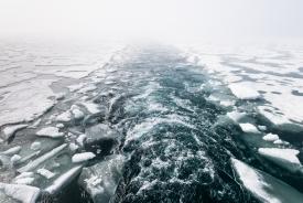 Onwards through the ice