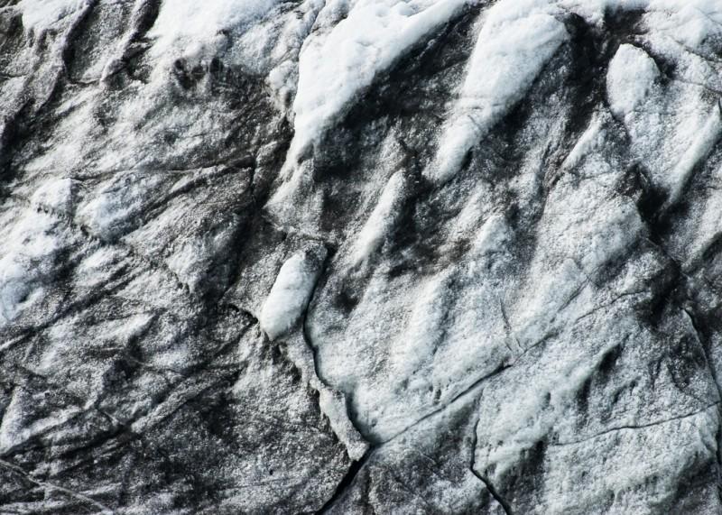 Ett utsnitt av en glaciär, som jag faktiskt glömt anteckna namnet på.