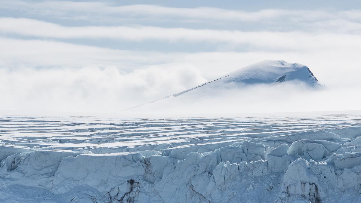 Glacier in Isbukta